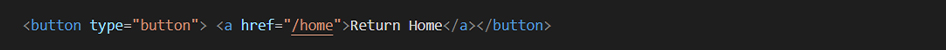 An example of what a poor coding practice is using an example of a button in html