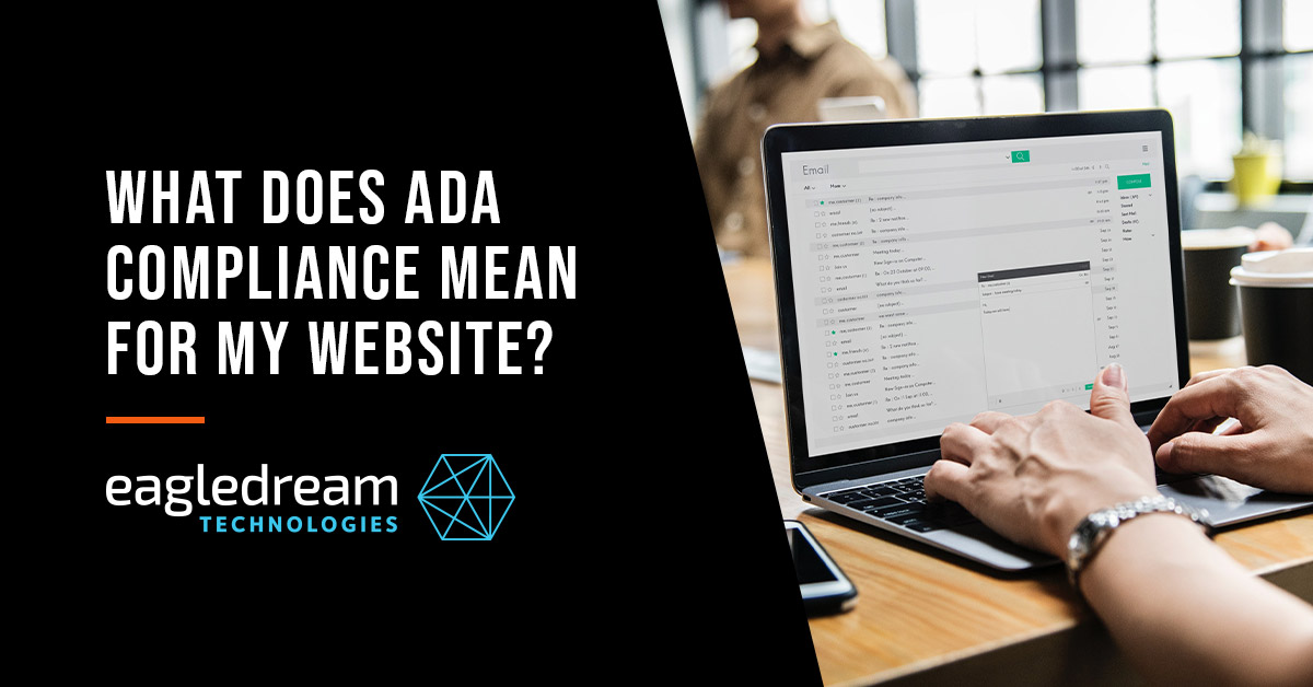 What does ADA compliance mean for my website?